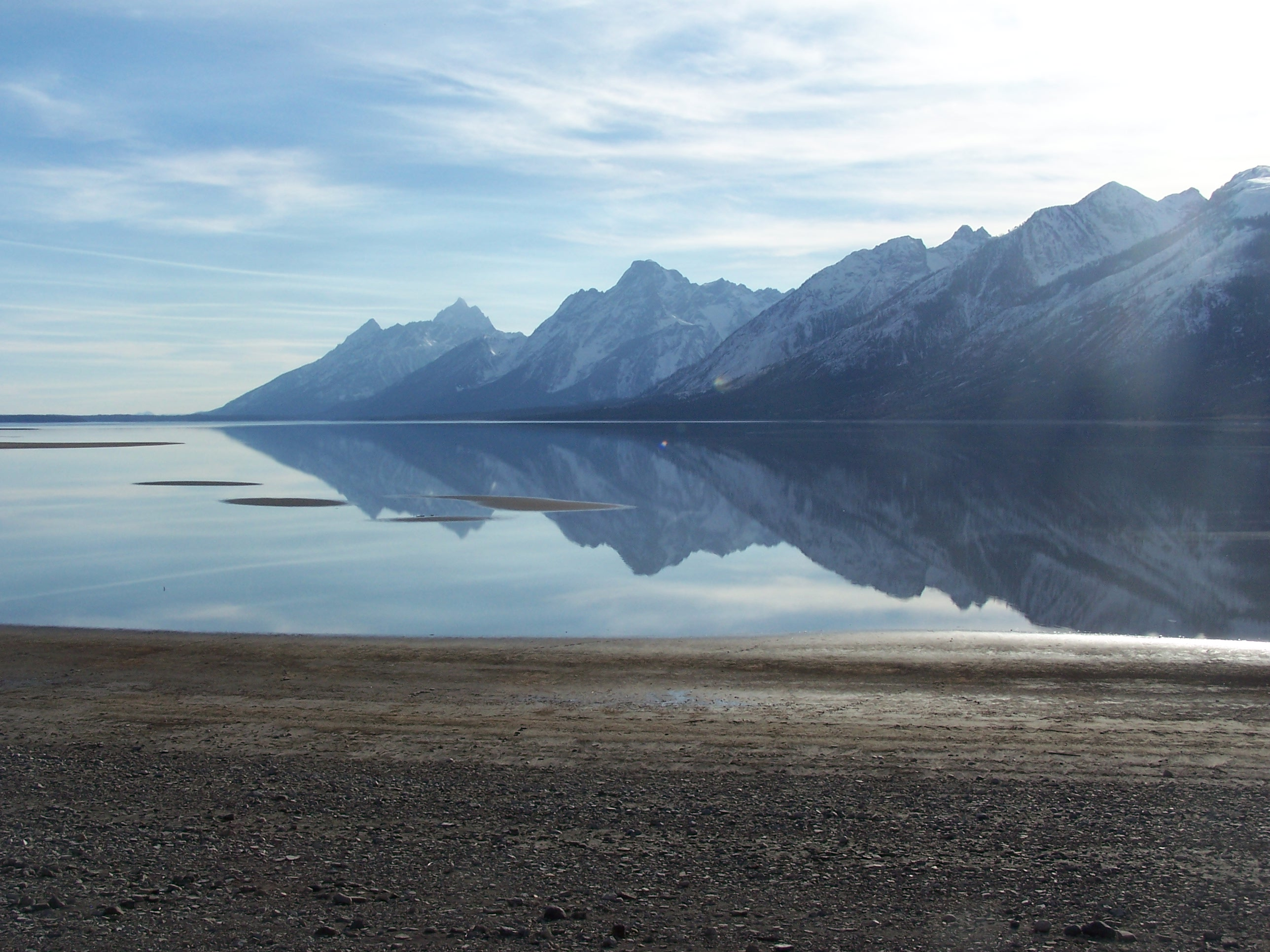 Arrowheads on Jackson Lake